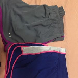 Pants - 2 pairs workout shorts